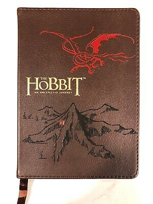 """""""The Hobbit~An Unexpected Journey"""" Soft Leather-Like Cover ~ Journal"""