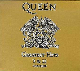 Queen Greatest Hits I & II - 2 CD's - EXC - 17 Tracks, 1994 Hollywood Records