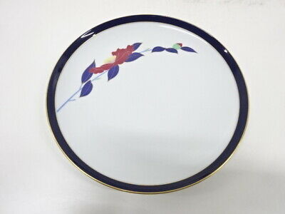 4454616: Japanese Porcelain Koransha / Large Plate / Flower