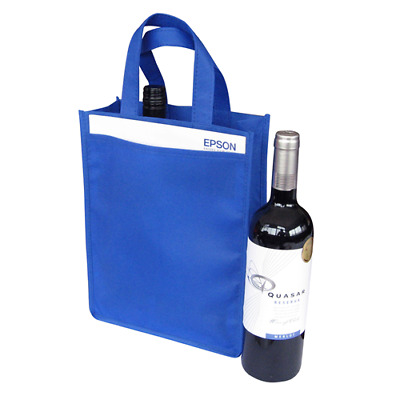 NEW Double Bottle/Wine Carry/Gift Bag 8 Colours Bulk Quantity