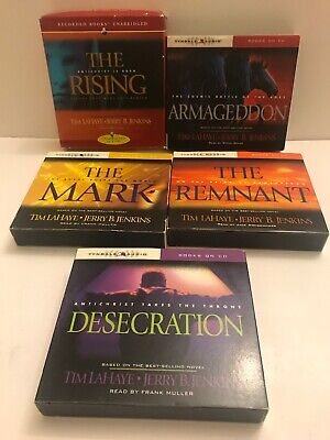 Lot of 5 Left Behind Series Audio CD Books by Jerry Jenkins Fast Ship