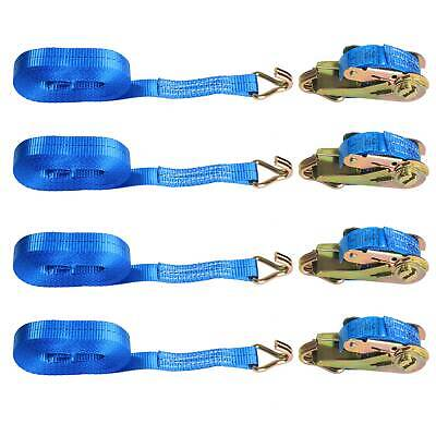 4x25mm 5 Meter Ratchet Straps Tie Down 800KG Claw Lorry Strap Lashing Polyester