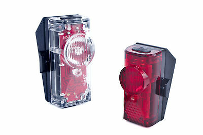 BIKE REAR REFLECTOR RED SEATPOST FRAME WARNING LIGHT LAMPE BICYCLE FIXIE MTB