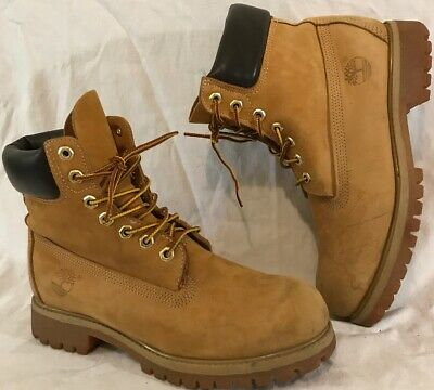 Timberland Beige Ankle Leather Beautiful Boots Size 7.5Uk (972Q)