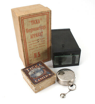 HOUGHTON TICKA WATCH CAMERA/ENLARGER, GERMAN BOXED/cks/189066