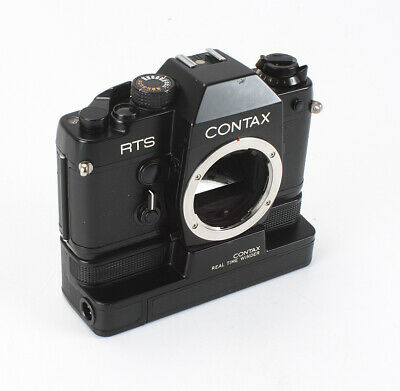 "Contax Rts Black Body ""Scientific/Medical"" + Real Time Winder, Issues/199040"