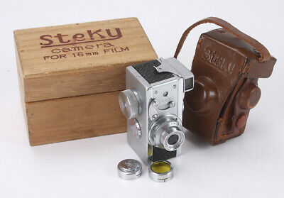 RICOH STEKY III, 25/3.5 STEKINAR, BOXED, BAD DIAPHRAGM, AS-IS/cks/189133