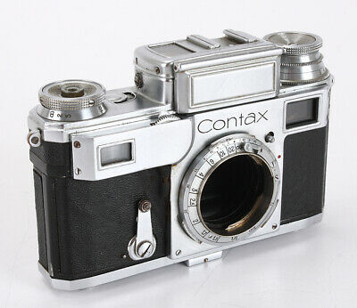 Zeiss Contax Iii Chrome Body, Shutter & Other Issues, As-Is/211813