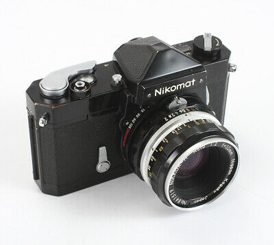 Nikon Nikomat Ftn Black, 50/2 Nikkor-H (Dust, Debris), Various Issues/198540