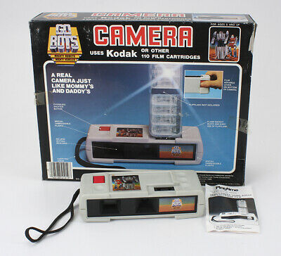 PLAYTIME GO BOTS CAMERA, USES 110 FILM, BOXED/cks/192316
