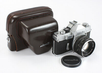Minolta Sr-1 55/1.8 Minolta Rokkor (Haze, Dust), Bad Diaphragm, As-Is/199007