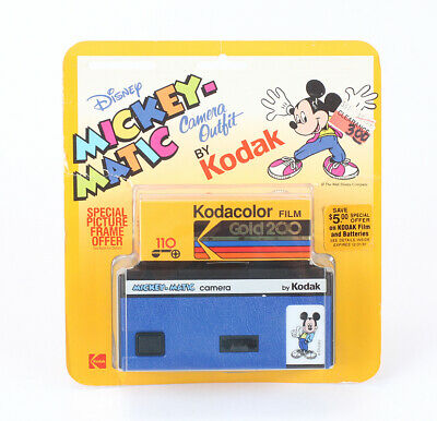 KODAK DISNEY MICKEY-MATIC IN A SEALED BLISTER PACK, FOR DISPLAY ONLY/cks/199498