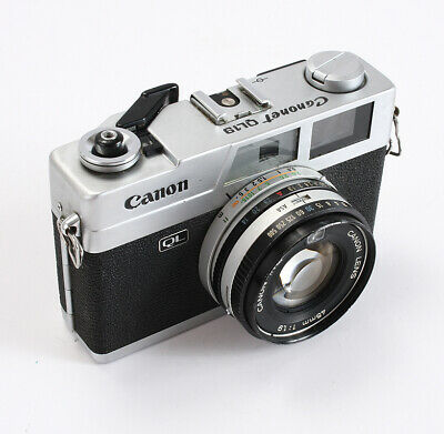 Canon Ql19, 45/1.9 Canon, Defective Shutter & Meter, As-Is/201718
