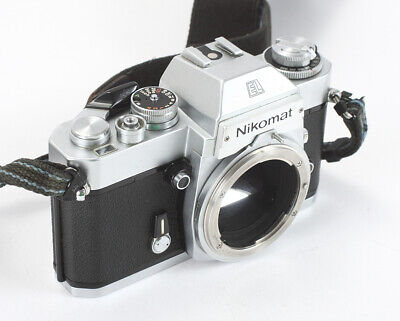 Nikon Nikkormat El Chrome Body, Various Small Issues/198446