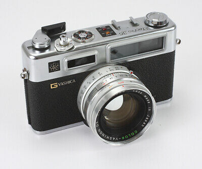 Yashica Electro 35 Gs 45/1.7 Color-Yashinon (Dust, Spots), Few Issues/192914