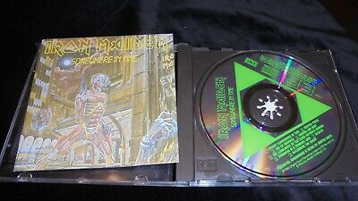 Iron Maiden – Somewhere In Time EMI HOLLAND 1986 ex/mint- CD
