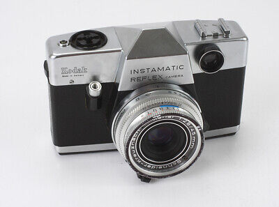 Kodak Instamatic Reflex, 45/2.8 Xenar (Dust), Meter Needle Defective/193001