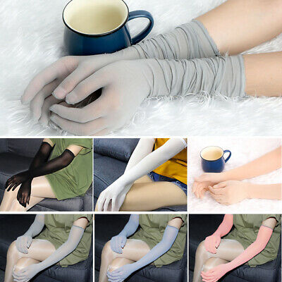 Ladies Gloves Women Bridal 1 Pair Costume Gloves Tight Wedding See Through
