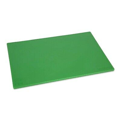 GREEN CUTTING CHOPPING BOARD LOW DENSITY PLASTIC 450 x 300mm COMMERCIAL CATERING