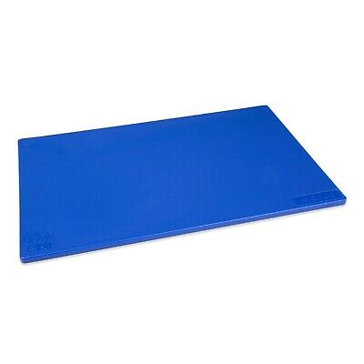 BLUE CUTTING CHOPPING BOARD LOW DENSITY PLASTIC 450 x 300mm COMMERCIAL CATERING