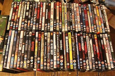 Dvd Job Lot Horror Thriller Action Comedy Collection X74