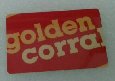 Golden Corral Gift Card, 2019, Collectible, Mint