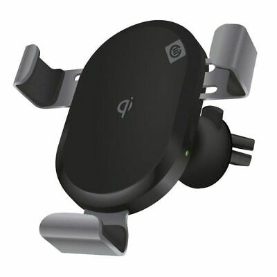 Alogic Universal Wireless Charging Car Mount - Air Vent - Black Color