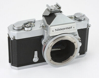 Nikon Nikkormat Ftn Chrome Body, Meter May Be Slightly Weak, Engraved/193384