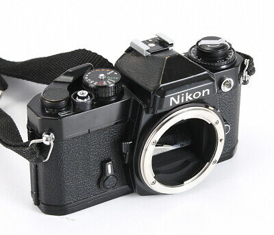 Nikon Fe Black Body, Few Issues, Top Cover Dents/212012