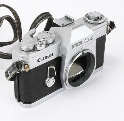 Canon Pellix Chrome Body, Some Capping, Bad Meter, Finder Issues/209089