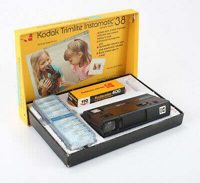 KODAK TRIMLITE INSTAMATIC 38 + 110 FILM, BOXED/cks/196070