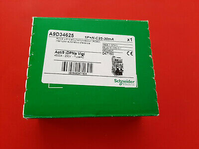 Schneider Acti9 A9D56616 1P+N B16 30mA RCBO