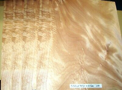 Real Wood Veneer Khaya Crotch For Craft,Furniture,Restoration,Marquetry,Boxes