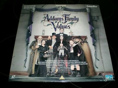 Addams Family Values Laserdisc 1993 Widescreen Pal Release