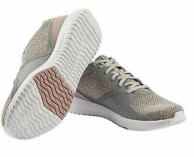 Reebok Ladies' Flexagon Force Shoe (Grey/Pink, Size 9)