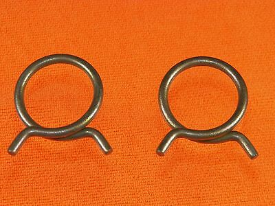 """Ford Lincoln Mercury 2/"""" Corbin Style Spring Heater Radiator Hose Clamps 2pcs LC"""