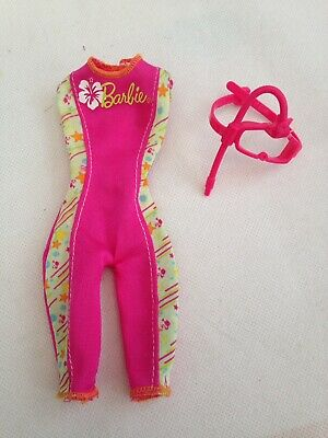 Barbie Lifeguard Doll Outfit With Snorkel