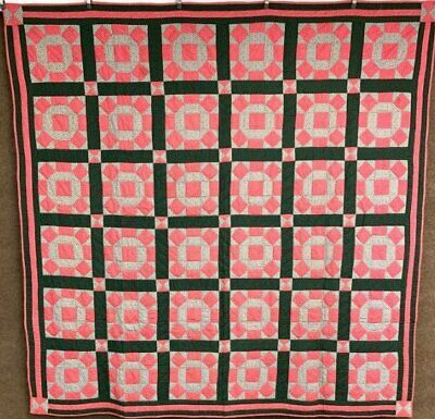 Impressive! c 1890-1900 Rolling Stone QUILT Antique Collection Find!