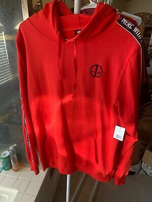 Deadpool Hoodie New Merc With A Mouth Size L Marvel