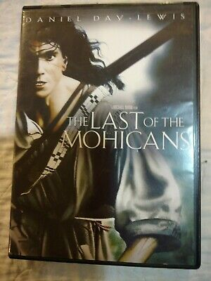 The Last Of The Mohicans DVD Daniel Day-Lewis 2010