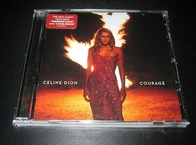 "Celine Dion cd album 2019 ""Courage"" brand new sealed free shipping"