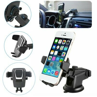 360° Car Windshield Dash Suction Mount Holder Telescopic Stand For Mobile Phones