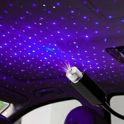 USB Car Roof Atmosphere Lamps Interior Ambient Stars Lights 5 V LED Projectors