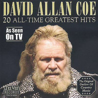 * DISC ONLY * / CD /  David Allan Coe – 20 All-Time Greatest Hits
