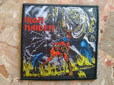 """Iron Maiden """"Number Of The Beast"""" Official Woven Patch"""