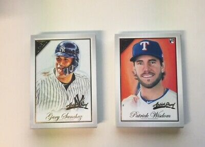 2019 Topps Gallery Artist Proof Singles You Pick