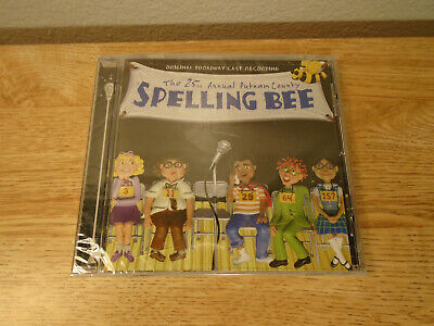 The 25th Annual Putnam County Spelling Bee Original Broadway Cast CD NEW SEALED