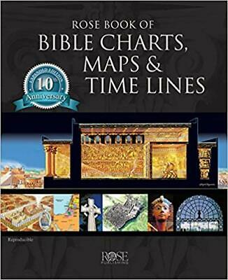 Rose Book of Bible Charts, Maps, and Time Lines 10th (P-D-F) 🔥