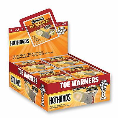 40 PAIRS OF HOTHANDS INSOLE Toe FOOT WARMERS, UP TO 9 HOURS OF HEAT