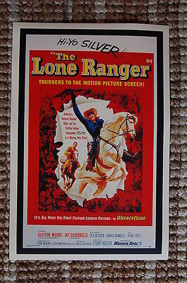 The Lone Ranger #2 Lobby Card Movie Poster Western Clayton Moore